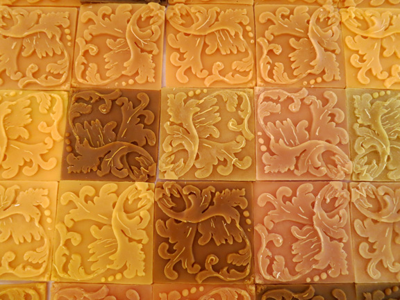 more beeswax tiles